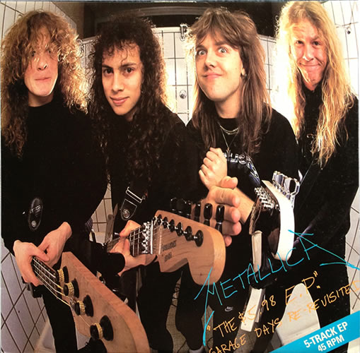 Metallica - $5.98 EP Garage Days - Australia -  - 888 788-1