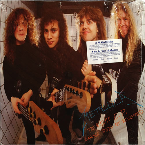 Metallica - $5.98 EP Garage Days - Canada -  - 96 0757-1