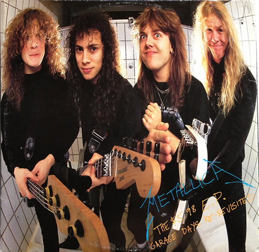 Metallica - $5.98 EP Garage Days - Greece -  - 888 788-1