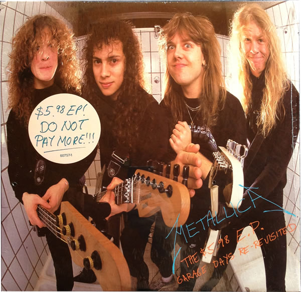 Metallica - $5.98 EP Garage Days - USA -  - 60757-1