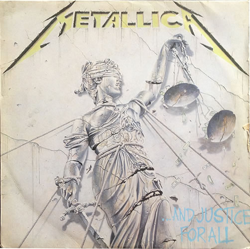 Metallica - And Justice For All - Portugal -  - 836 062-1