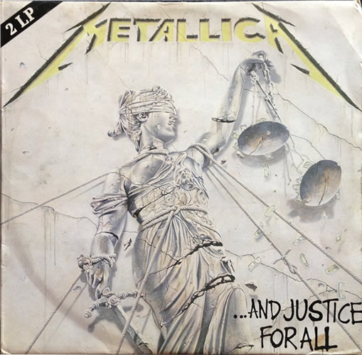 Metallica - And Justice For All - Australia -  - 836 062-1