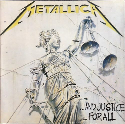 Metallica - And Justice For All - Brazil -  - 836 062-1