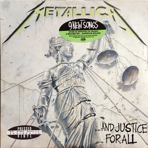 Metallica - And Justice For All - USA -  - 9 60812-1