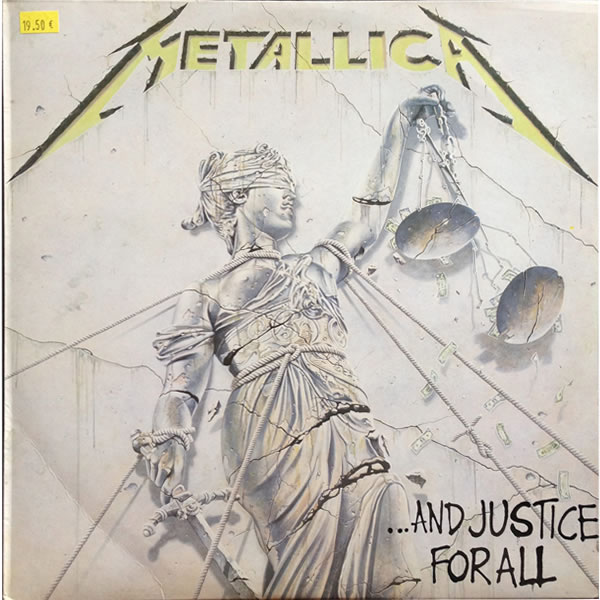 Metallica - And Justice For All - Spain -  - 836062-1