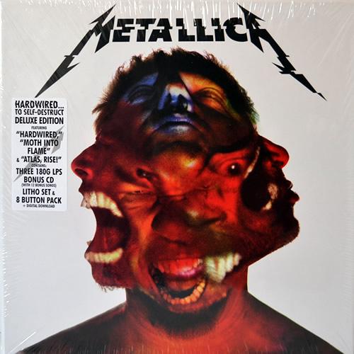 Metallica - Hardwired...To Self-Destruct - USA -  - BLCKND031-1D