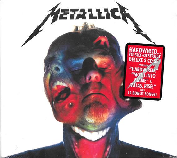 Metallica - Hardwired...To Self-Destruct - USA -  - BLCKND031-2D