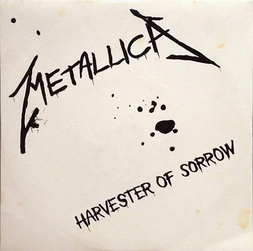 Metallica - Harvester of Sorrow - UK -  - METDJ 2