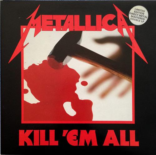 Metallica - Kill'Em All - UK -  - MFN 7 DM