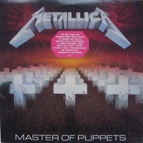 Metallica - Master Of Puppets - USA -  - 9 60439-1