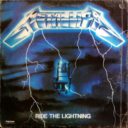 Metallica - Ride The Lightning - Argentina -  - 838 140-1