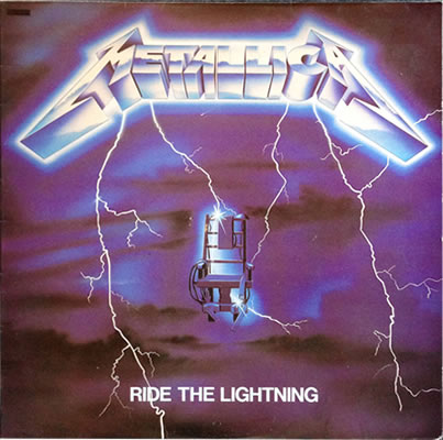 Metallica - Ride The Lightning - France -  - 2337