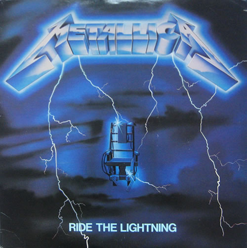 Metallica - Ride The Lightning - USA -  - MRI 769