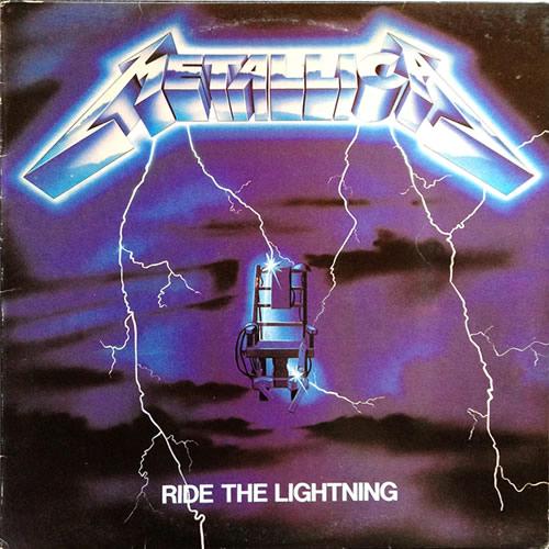Metallica - Ride The Lightning - Australia -  - 60396-1