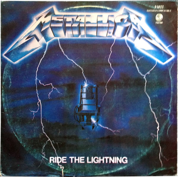 Metallica - Ride The Lightning - Ecuador -  - 31022