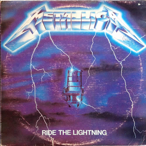 Metallica - Ride The Lightning - Venezuela -  - S.R.-210219