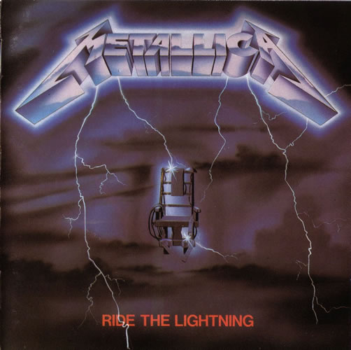 Metallica - Ride The Lightning - UK -  - CD MFN 27