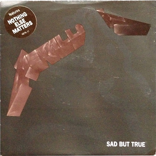 Metallica - Sad But True - UK -  - METAL 11